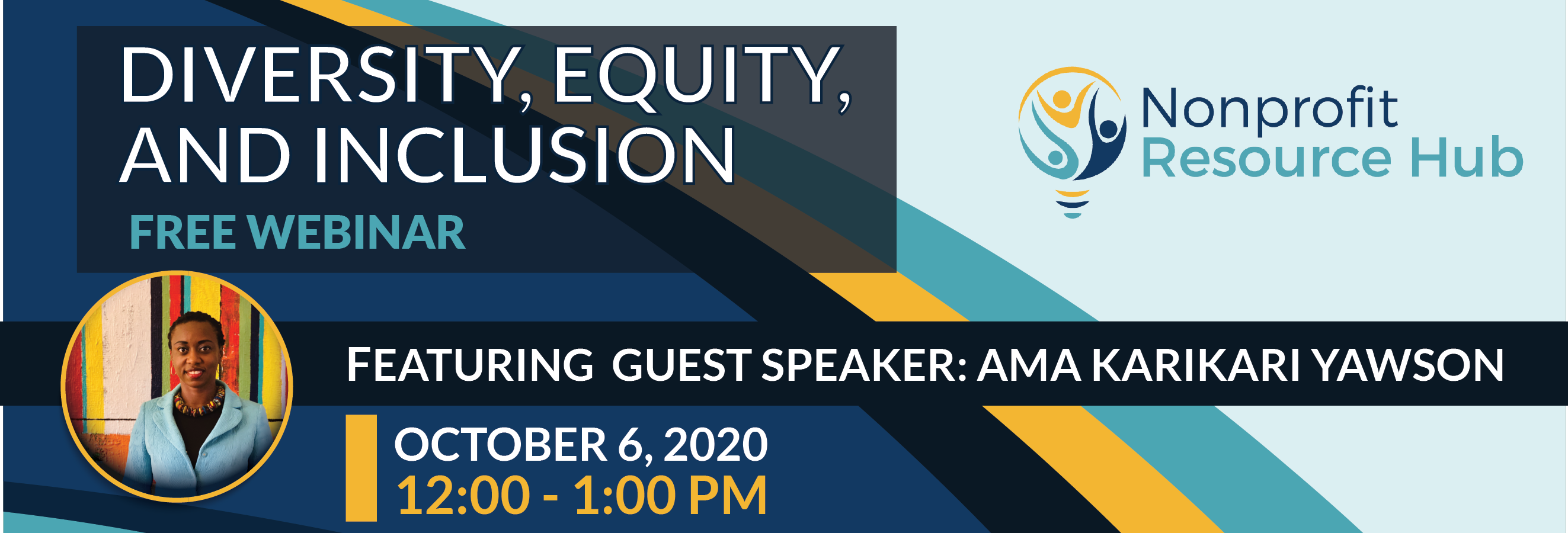 Diversity, Equity, and Inclusion Webinar: Header
