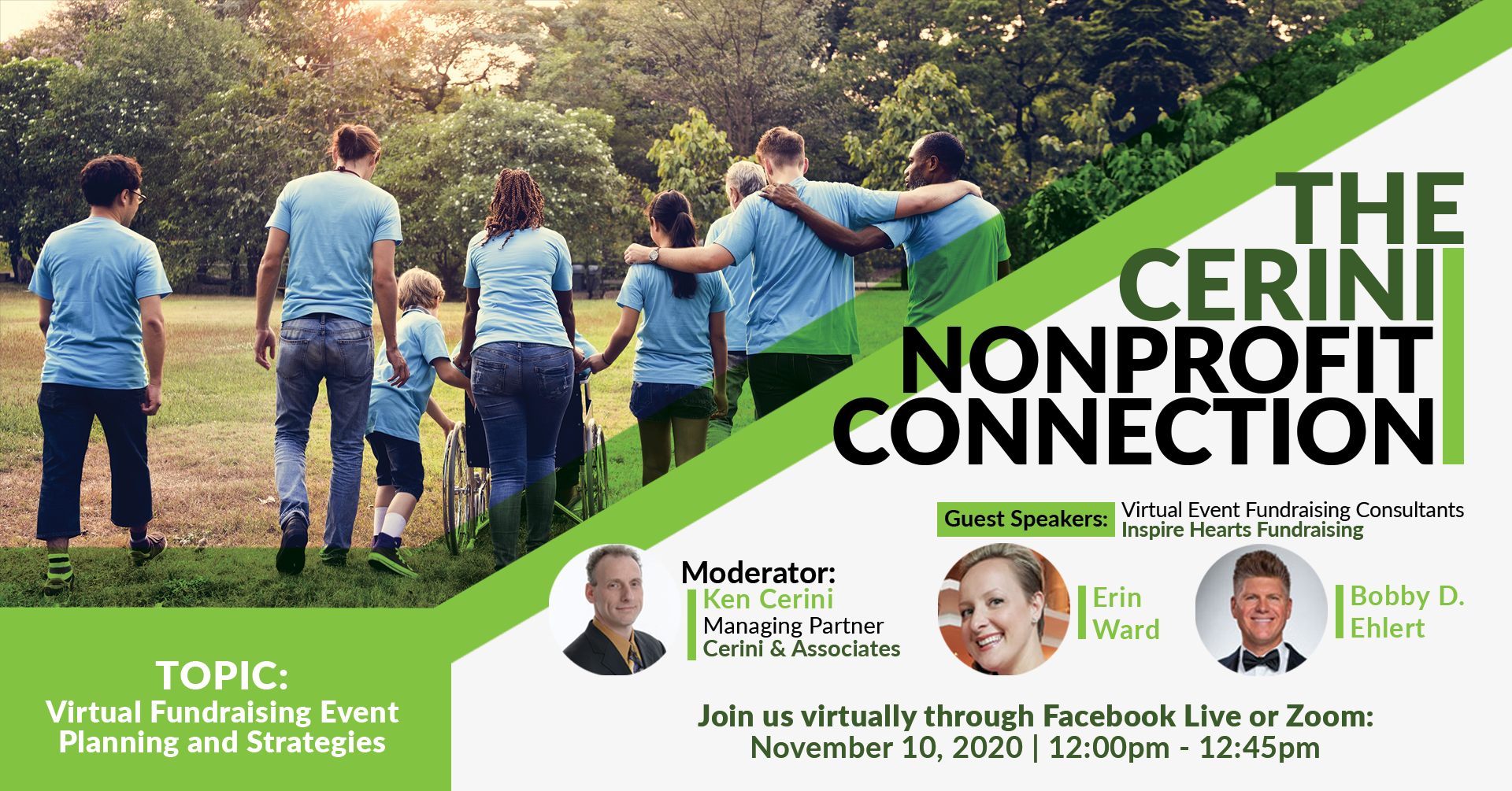 Cerini Nonprofit Connection November Header