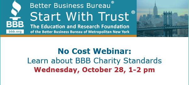 Learn About Bbb Charity Standards Nonprofit Resource Hub