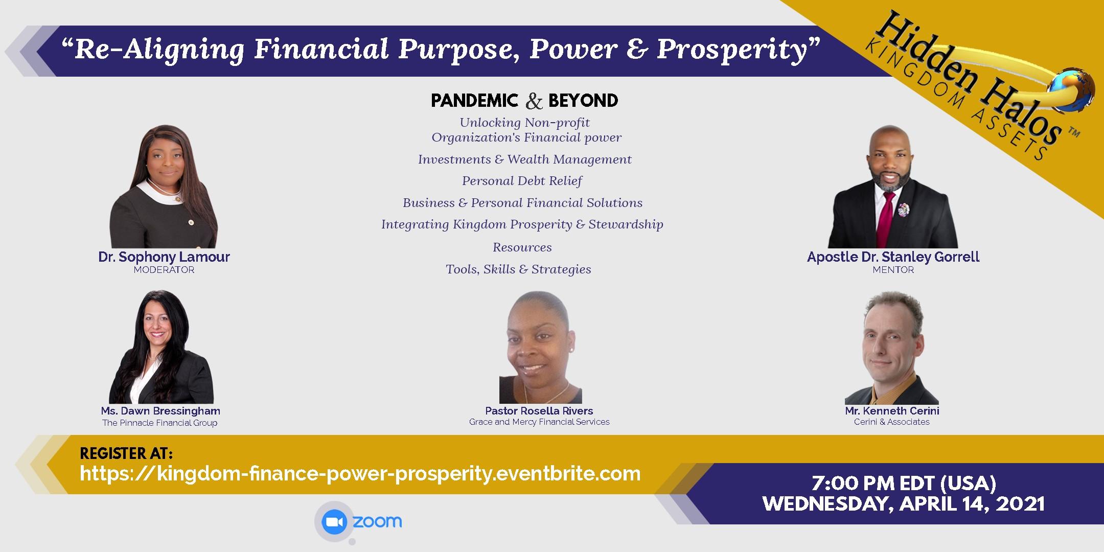 Unveiling Financial Purpose, Power & Prosperity: Pandemic & Beyond